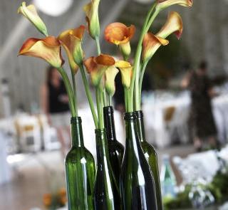 Kantadeski w zielonych butelkach