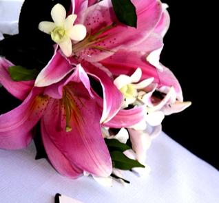 Pachnące lilie