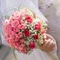 Róże i gipsówki