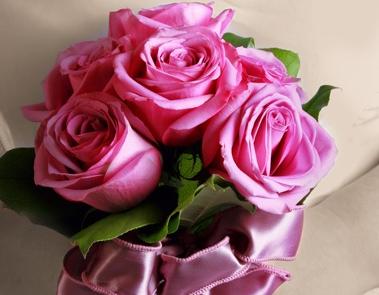 Różowe mini