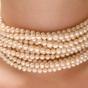 Bardzo długi sznur pereł