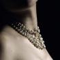 Naszyjnik z pereł i kryształków