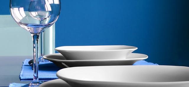 Niebieski minimalizm