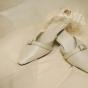 Buty do ślubu dla wysokiej Panny Młodej