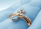 Pierścionki zaręczynowe z szafirem