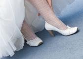 Buty ślubne na chłodniejsze dni