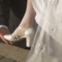 Buty na wesele na grubszym obcasie