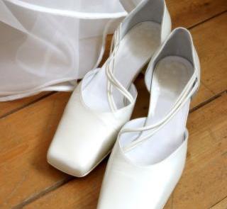 Buty z kwadratowymi noskami