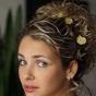 Kok dla Panny Młodej z kręconymi włosami
