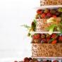 Tort czekoladowy dla amatorów truskawek