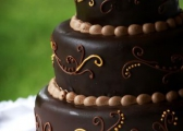 Torty weselne pachnące czekoladą