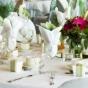 Stół weselny z gerberami