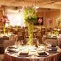Dekoracja - stół weselny zielone jabłuszko