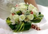 Bukiety ślubne - z różami w roli głównej