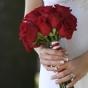Ciemnoczerwone róże