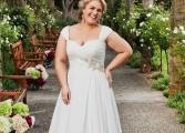 Suknia ślubna w rozmiarze XL