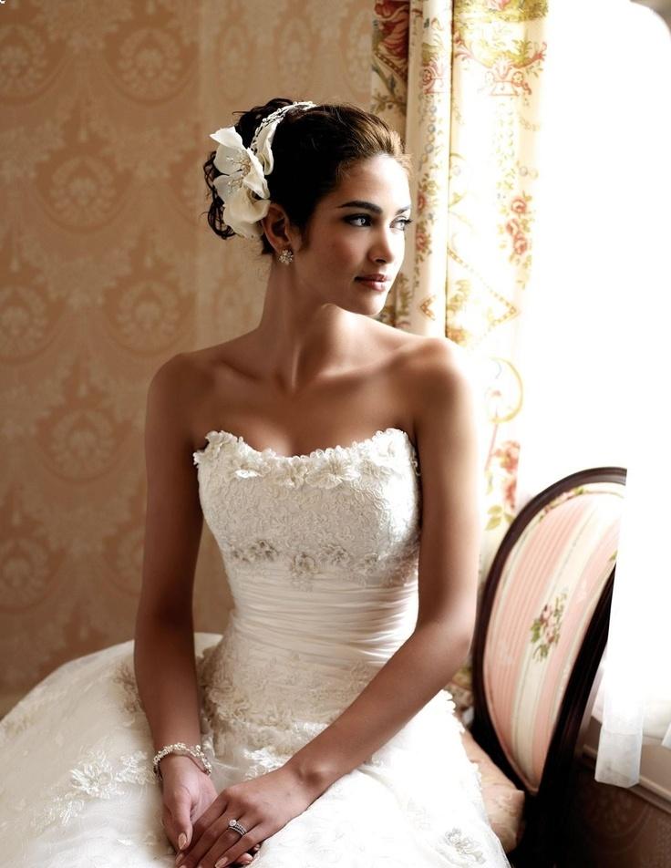 Idealna suknia ślubna dla Panny Młodej o szerokich biodrach